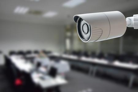 cctv: C�mara de seguridad CCTV Foto de archivo