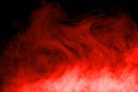 Fog or Smoke effect on black Background
