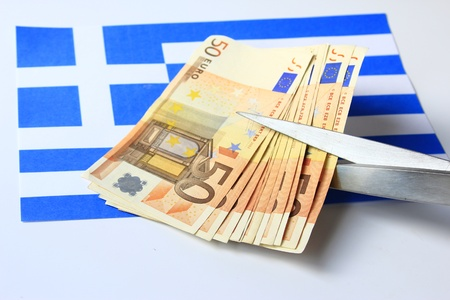 Symbol photo: Depts cut for Greece