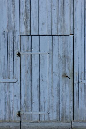old wooden door of a barn photo