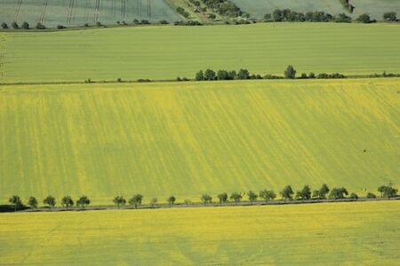 aerial view of arable land Stock Photo - 11317013
