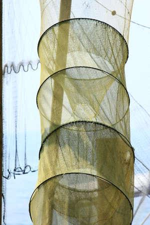 fishermans net: fish trap
