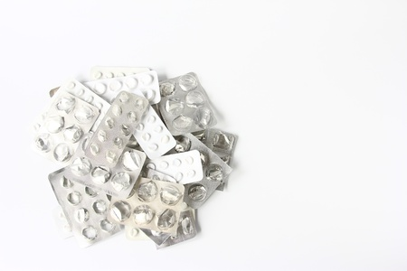 pile of empty blister packing of tablets Stock Photo - 12414859