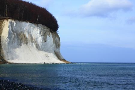 The chalk cliffs of Ruegen, Baltic Sea, Mecklenburg-Western Pomerania, Germany Stock Photo - 12415368
