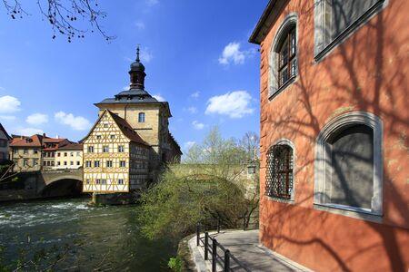 Old Town Hall, Bamberg, Bavaria, Germany photo