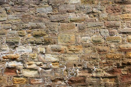 middle joint: Particolare di un muro della citt� antica Archivio Fotografico