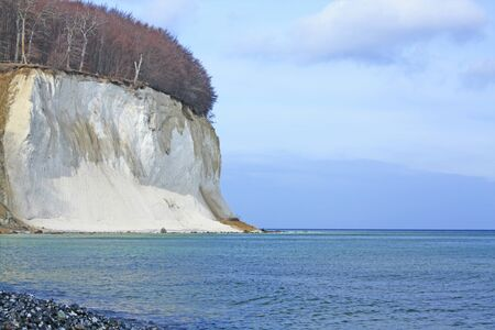 The chalk cliffs of Ruegen, Baltic Sea, Mecklenburg-Western Pomerania, Germany photo