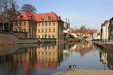 Water castle Concordia, Bamberg, Bavaria, Germany Stock Photo - 16372624