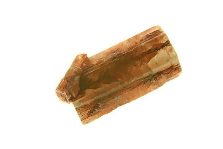 esoterismo: Cristales de aragonita aislado contra un fondo blanco