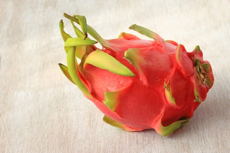 Hylocereus undatus fruit of the cactus plant commercially known as pitahaya photo