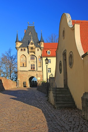 gatehouse:  Torhaus  Gatehouse, Meissen, Saxony, Germany  Access to Cathedral Square and the Albrecht Castle
