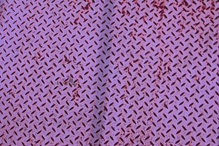 checker plate: Purple background  violet colored checker plate Stock Photo