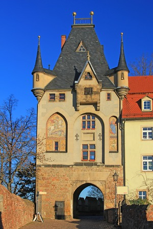 albrecht: Gatehouse, Meissen, Saxony, Germany  Access to Cathedral Square and the Albrecht Castle