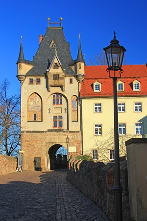 gatehouse: Gatehouse, Meissen, Saxony, Germany  Access to Cathedral Square and the Albrecht Castle