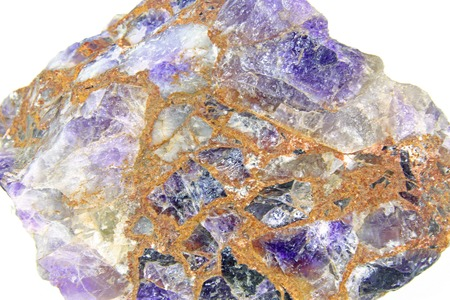 approx: Amethyst rough stone, conglomerate, imagewidth approx. 8 cm