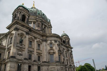Berlin Cathedral under blue sky