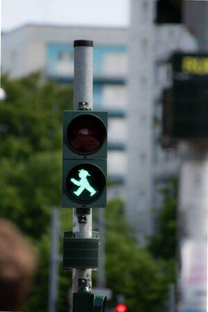 Berlin traffic light male