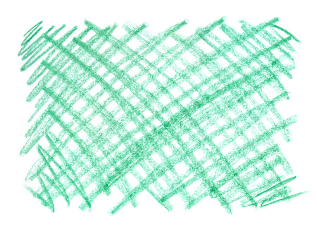 Crayon scribble background.Green pastel crayon spot. Wax crayon texture. Emerald background. Gradient crayons. Backdrop with scratches and dots. virid background. Pencil Brush. Hand painted. Grunge chalk.