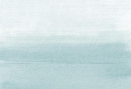 Hand painted grey black watercolor background. Watercolor wash.Watercolour texture. Gradient. Gray blue background. Soft transition. Black Watercolour texture.Abstract Ombre background Foto de archivo