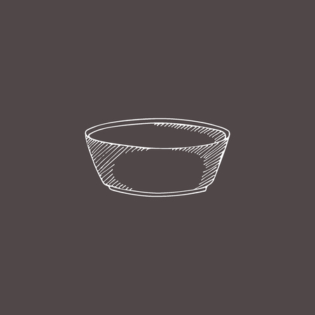 sketch illustration cup. Hand drawn doodle style. Engraving effect. 版權商用圖片
