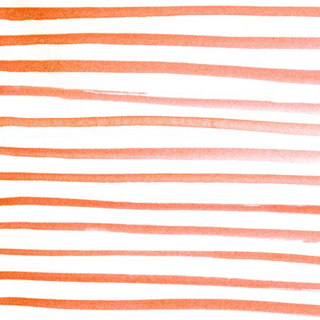 Rood hand geschilderd waterverfpatroon. Aquarel roze wassen textuur. Gradiënt water kleur achtergrond. Lijntekening. Strips.