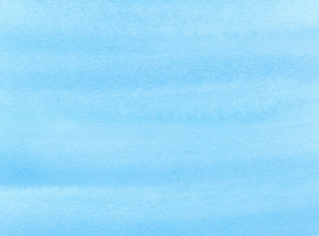 Handgeschilderde blauwe aquarel achtergrond. Abstracte nautische waterverftextuur. Marine ombre water kleur gradiënt achtergrond. Hand getrokken winter achtergrond. Aquamarijn ontwerpelement.