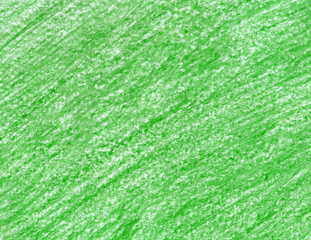 A green wax pencil. Hand drawn emerald texture. Herbal background. Linear pattern. Verdant crayons.