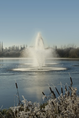 Winter Water Fountains photo