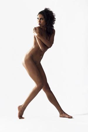 Art Nude Lady Studio Portrait Stock Photo - 16548701