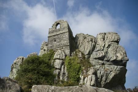 hermits: roche chapel  the hermits chapel  in cornwall uk