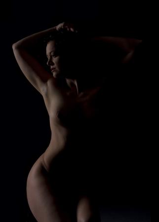 adult nude: art nude portrait