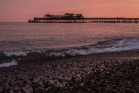 hastings: Hastings Pier Sunset