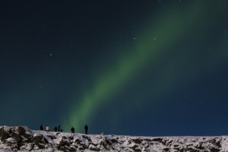 Photo of the northern lights (Aurora Borealis)