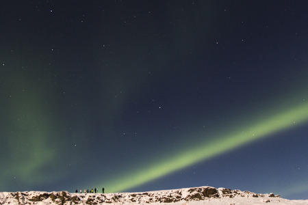 aurora: Photo of the northern lights (Aurora Borealis)