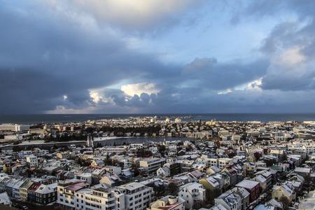 Reykjav?k - Iceland. View of the landscape in Reykjav?k, Iceland