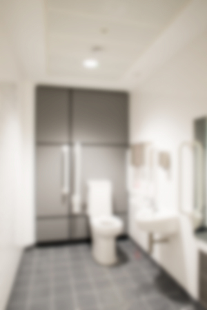 cubicle: Blurred interior toilet cubicle background