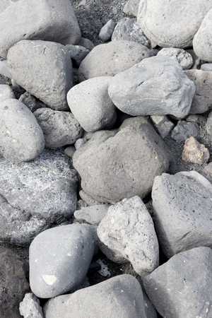 playa blanca: Close up of lava rocks on Playa de Janubio beach Lanzarote.