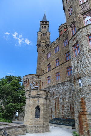 swabian: Hohenzollern castle interior, Germany.