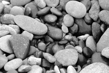 美しく、魅力的な小石