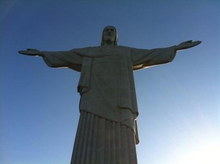 iconic statue over Rio de Janeiro