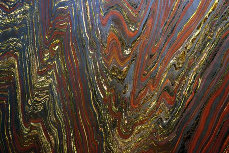 detail from tiger eye stone