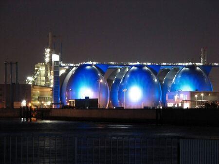 Sewage plant photo