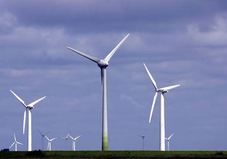 wind farm: Parque e�lico  Foto de archivo