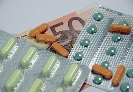 pharmaceutica with money Stock Photo - 8523619