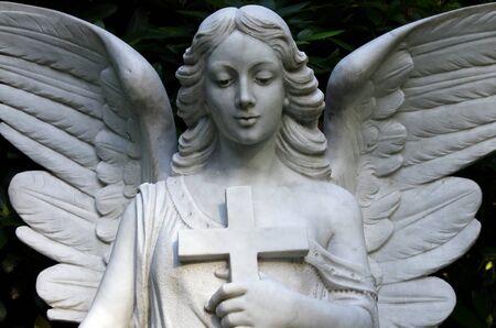 Cemetery Statue photo