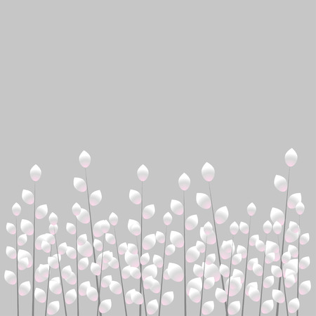gray: Gray pussy-willow background