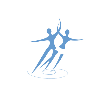 Figure skating couple