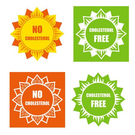 cholesterol: Four cholesterol free labels