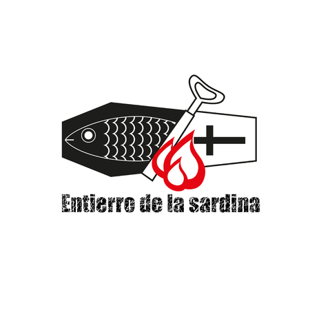 symbolics: Spanish traditional Burial of the Sardine