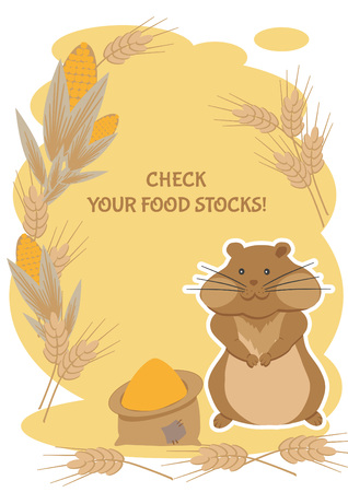 thrifty: Thrifty hamster advises you to check your food stocks